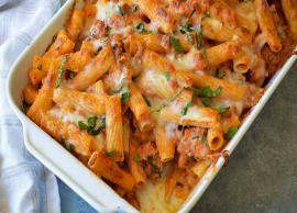 Recipe- Most Delicious Home Baked Ziti