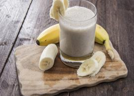 Recipe- Banana Oats Smoothie For Lazy Summer Days