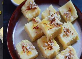 Recipe- Quick and Easy To Make Milk Powder Barfi