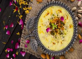Recipe- Keep Yourself Cool During Summers With Basundi