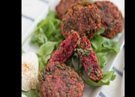 Recipe- Make Weekend Happy With Mini Beetroot Tikki