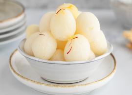 Recipe- Bengali Style Rasgulla at Home