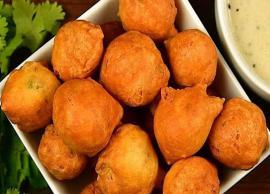 Recipe- Instant Besan Bonda To Suit Your Taste Buds