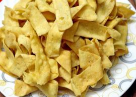 Recipe- Baked Besan Papdi For Tea Time Snack