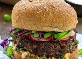 Recipe- Black Bean Burger To Kick Start Your Week