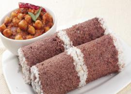 Recipe- Start Your Day With Healthy Black Rice Puttu
