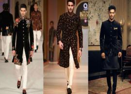 5 Most Trending Black Sherwani Designs For Men