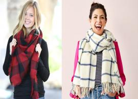 3 Blanket Scarfs To Style This Winter
