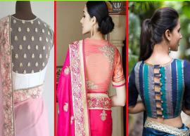 5 Most Trending Blouse Designs To Try This Wedding Season