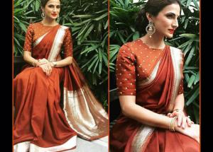 5 Blouse Designs To Match With Your Silk Saree