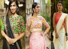 5 Boat Neck Blouse Designs To Try This Wedding Season-Photo Gallery