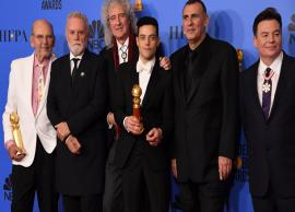 Queen biopic 'Bohemian Rhapsody' featuring Rami Malek bags top honours at Golden Globes 2019