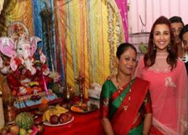 Ganesh Chaturthi 2018: From Aishwarya Rai Bachchan to Parineeti Chopra, Bollywood celebs seek bappa's blessings