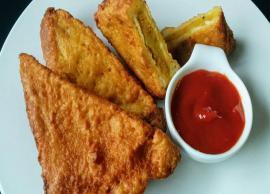 Recipe- Perfect For Mornings are Bread Pakora