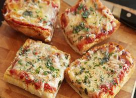 Recipe- Kids Favorite Healthy Bread Pizza