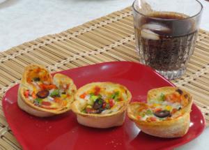 Recipe : Delicious Bread Pizza Cups