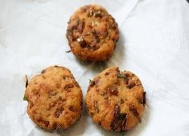 Recipe- Start Your Week With Bread Vada