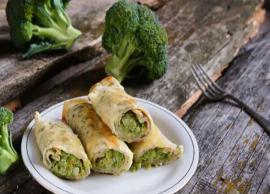 Recipe- Delicious Broccoli and Cheddar Crepes