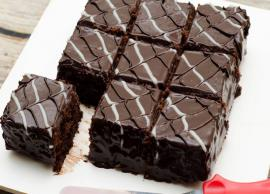 Recipe- Celebrate Mothers Day With Eggless Brownie