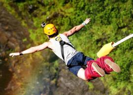 5 Places in India To Enjoy Bungee Jumping