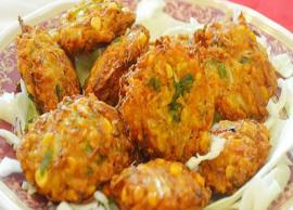 Recipe- Mornings are Better With Cabbage Vada
