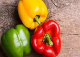 5 Health Benefits of Eating Capsicum