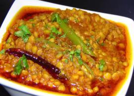 Recipe- Dhaba Style Chana Dal Recipe