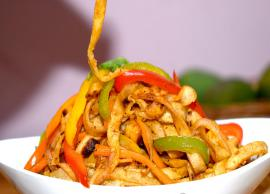 Recipe- Chinese Style Vegetable Chapathi Noodles