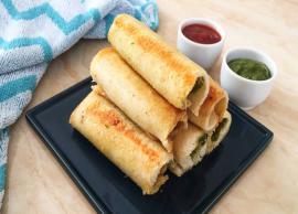 Recipe - Cheese Maggi Bread Roll
