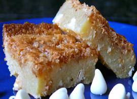 Recipe- Bite Into These Chewy White Brownies