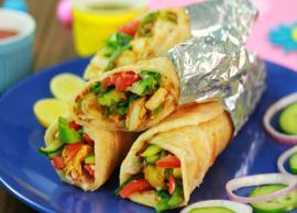 Recipe- Chicken Kathi Roll