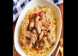 Recipe- Chicken Scampi Pasta For Perfect Snack