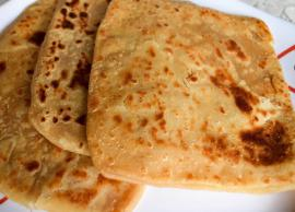 Recipe - Know How to Cook Easy and Healthy Sweet Dish 'Chini Ka Paratha' At Home