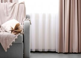 5 Tips To Clean Your Curtains Easily