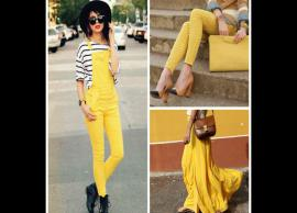 5 Ways To Look Gorgeous in Color Yellow