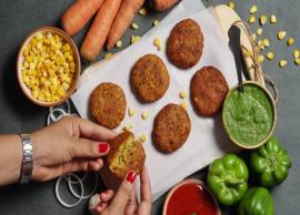 Recipe- Treat your Kids With Corn Cutlets