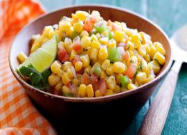 Recipe- Make Your Mornings Healthy With Corn Salad