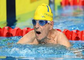 99 year Old Man Broke Swimming World Record