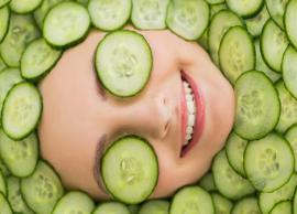 DIY Cucumber Fcae Mask To Fight Signs of Aging