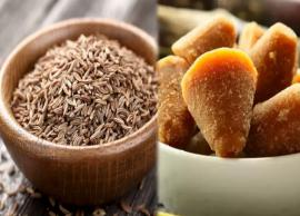 6 Health Benefits of Drinking Cumin Seeds and Jaggery Water