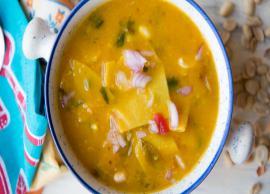 Recipe- Popular Gujarati Delicacy Dal Dhokli
