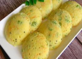 Recipe- Healthy No Rice Dal Idli