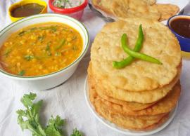 Summer Recipe- Dal Pakwan For An Authentic Breakfast