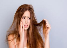 6 Major Signs of Damaged Hair and Tips To Repair Them