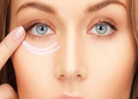 6 Natural Ways To Get Rid of Dark Circles Under The Eyes