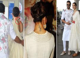 Wondering what happened to Deepika Padukone 'RK' tattoo post wedding with Ranveer Singh