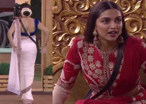 Bigg Boss 11- Sapna Choudhary Dance Moves Shocked Deepika Padukone