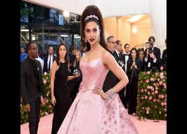 PICS- Deepika Padukone goes pink for Met Gala 2019 pink carpet