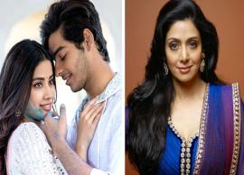 Janhvi Kapoor and Ishaan Khatter starrer Dhadak to be dedicated to Sridevi