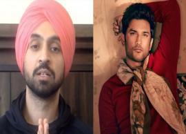 'Suicide waali baat digest toh nahi hoti',  Diljit Dosanjh on Sushant Singh Rajput